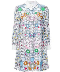 Barbara Bui | Платье-Рубашка С Геометрическим Узором