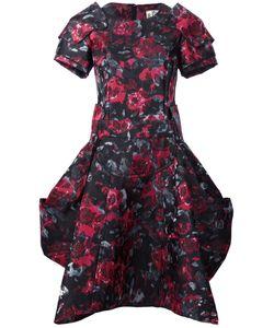 Comme Des Garcons | Структурированное Платье С Цветочным Рисунком