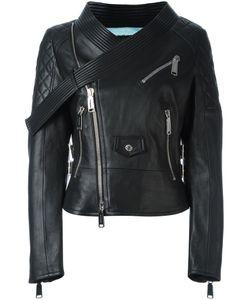 Dsquared2 | Байкерская Куртка С Поясом На Воротнике