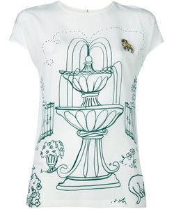Dolce & Gabbana | Топ С Принтом Victorian Garden