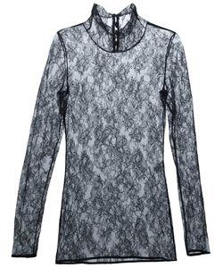 Lanvin | Блузка Из Цветочного Кружева