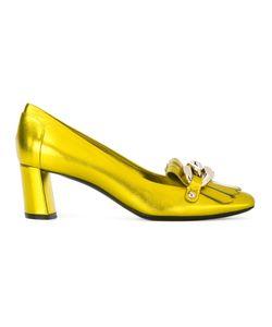 Casadei | Декорированные Туфли С Бахромой