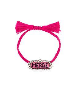 Shourouk | Merde Beaded Bracelet
