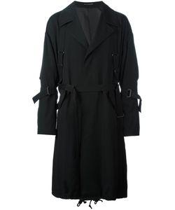 Yohji Yamamoto | Пальто С Регулируемыми Ремешками