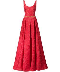 Marchesa Notte | Платье С Цветочным Узором
