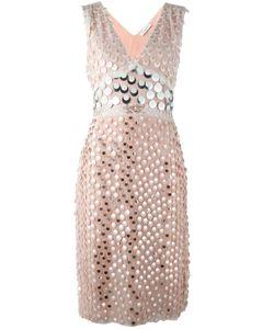 Altuzarra | Декорированное Платье С V-Образным Вырезом