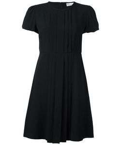 Red Valentino | Расклешенное Платье С Плиссировкой