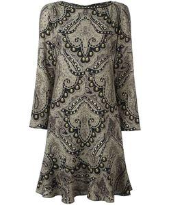Etro | Платье С Принтом Дамаск