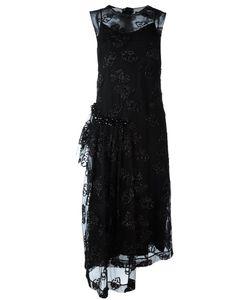 Simone Rocha | Платье С Полупрозрачным Верхним Слоем