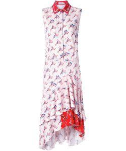 Preen By Thornton Bregazzi | Платье-Рубашка С Цветочным Принтом