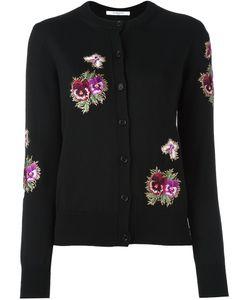 Givenchy | Кардиган С Цветочной Вышивкой