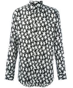 Saint Laurent | Рубашка С Узором В Виде Звезд