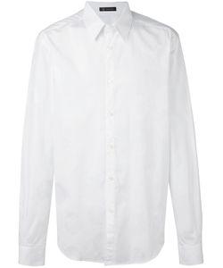 Versace | Рубашка С Вышитым Логотипом