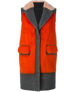 Blancha | Пальто С Панельным Дизайном