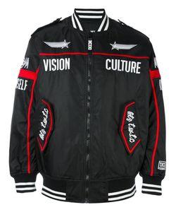 Ktz | Куртка-Бомбер С Вышивкой