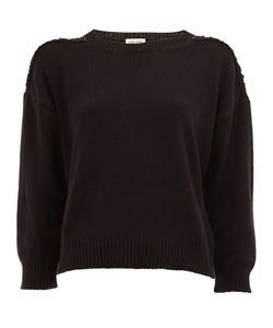 Saint Laurent | Grunge Crew Neck Sweater