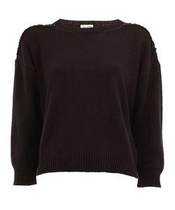 Saint Laurent | Grunge Crew Neck Sweater