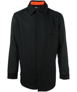 Y-3 | Рубашка С Контрастной Подкладкой