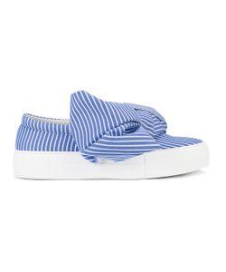 Joshua Sanders | Bow Wide Stripe Sneakers