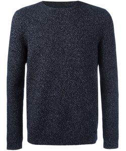 Folk | Flecked Jumper Large Cotton/Polyester/Wool/Nylon