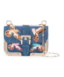 Red Valentino | Denim Shoulder Bag Cotton/Metal