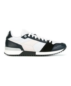 Ami Alexandre Mattiussi | Running Sneakers 42 Leather/Suede/Cotton/Rubber