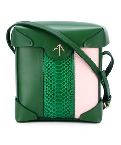 Manu Atelier | Striped Mini Pristine Handbag