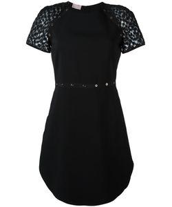 GIAMBA | Платье С Прозрачными Рукавами