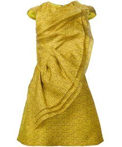CHRISTIAN SIRIANO | Платье С Оборкой