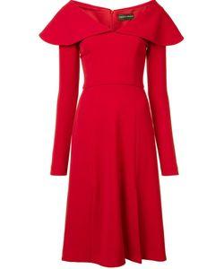 CHRISTIAN SIRIANO | Платье С Воротником-Пелериной