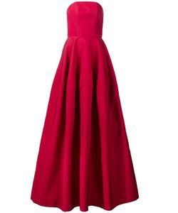 CHRISTIAN SIRIANO | Расклешенное Платье Без Бретелек