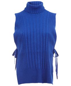 Maison Margiela | Tie Ribbed Tank Top