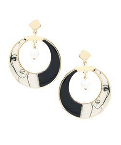 Francesca Romana Diana | Plated Hoop Earring