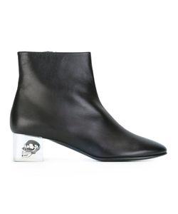 Alexander McQueen | Ботинки На Контрастном Каблуке