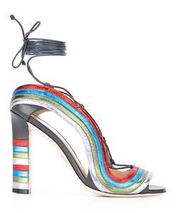 Paula Cademartori | Босоножки Crazy Stripes