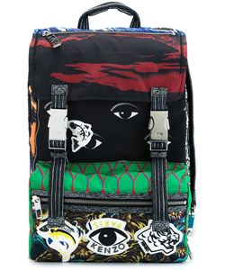 Kenzo | Рюкзак Со Смешанным Принтом