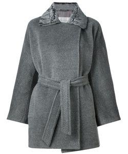 Max Mara | Пальто С Расклешенными Рукавами И Поясом