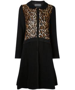 Alberta Ferretti | Пальто С Леопардовым Принтом