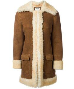 Saint Laurent | Пальто Из Овчины