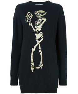 Moschino | Skeleton Intarsia Jumper Dress