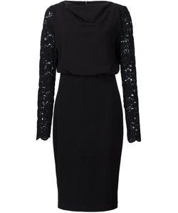 Badgley Mischka | Платье С Кружевными Рукавами