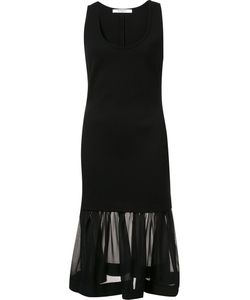 Givenchy | Платье С Шифоновой Оборкой