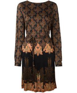 Etro | Платье С Абстрактным Принтом