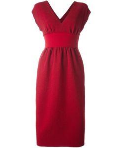 Agnona | Платье C V-Образным Вырезом