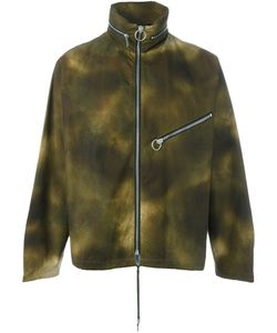 PALM ANGELS | Camouflage Wide Collar Jacket