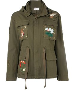 Red Valentino | Embroidered Military Jacket