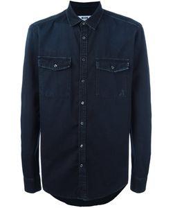 MSGM | Джинсовая Рубашка С Необработанными Краями