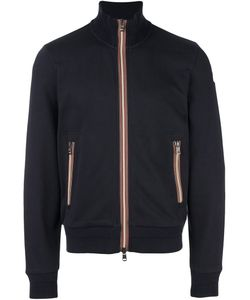 Moncler | Striped Trim Zipped Sweatshirt