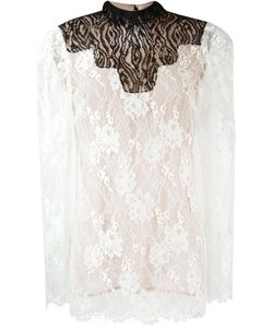 Lanvin | Lace Sheer Top