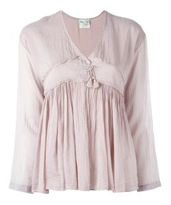 Forte Forte | Gathered Tassel Blouse